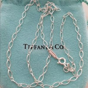 Tiffany & Co. Oval Link Necklace Chain